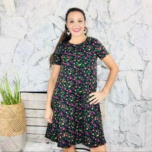 LuLaRoe LLR Carly Stretch Short Sleeve Dress XS